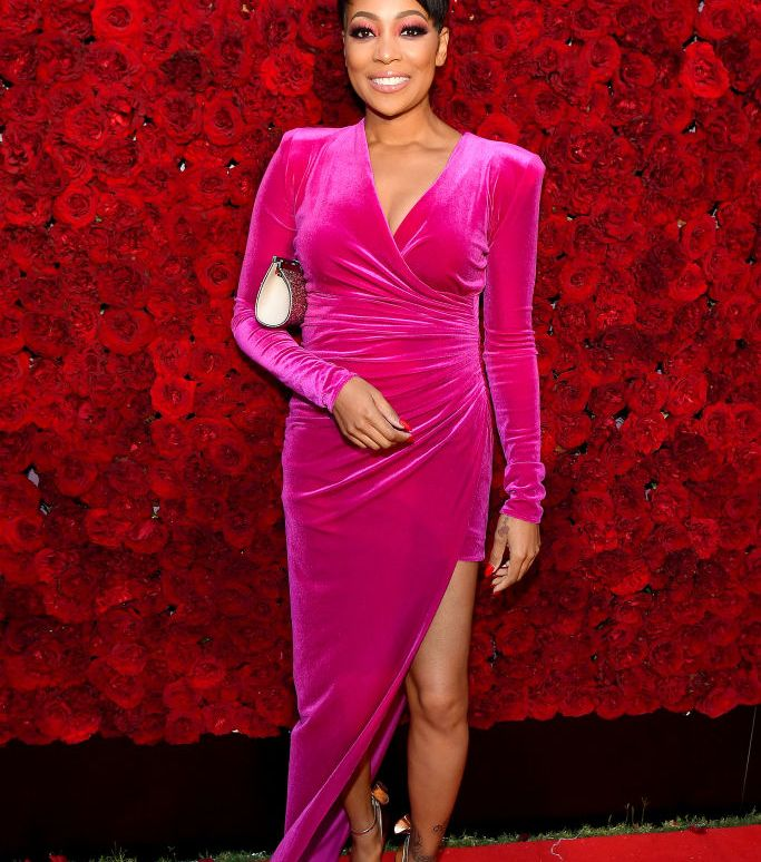ATLANTA, GEORGIA - OCTOBER 05: Monica attends Tyler Perry Studios grand opening gala at Tyler Perry Studios on October 05, 2019 in Atlanta, Georgia. (Photo by Paras Griffin/Getty Images for Tyler Perry Studios)