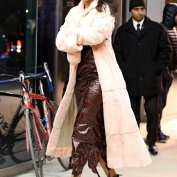 Rihanna in NYC for the Fendi Flagship Boutique Inauguration Party, 2015_